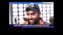 CNN-IBN stands with sporting heroes