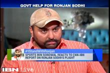 Sports Minister Sarbananda Sonowal reacts to CNN-IBN report on Ronjan Sodhi's plight