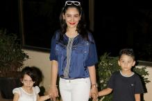 Photos: Celebrity kids attend Sanjay Dutt's twins' birthday bash