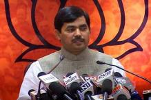 Congress coined intolerance, trying to defame India: Shahnawaz Hussain
