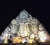 Kolkata Police permanently stops entry into Deshapriya park that is hosting tallest Durga idol
