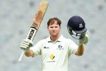 Australia's Travis Dean slams historic double on Sheffield Shield debut