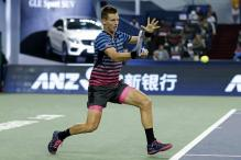 Tomas Berdych to face Grigor Dimitrov in Stockholm Open quarter-final