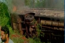 Fifteen persons killed in mini truck-bus collision in Andhra Pradesh