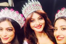 Urvashi Rautela crowned Miss India Universe 2015; creates history by winning the title twice