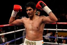 Vijender Singh pumped up ahead of his second fight as professional boxer