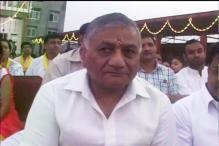 VK Singh shown black flags over Dalit remarks