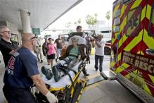 US: Airplane fire at Florida airport injures 15