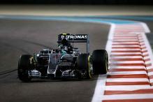 Nico Rosberg fastest as Mercedes dominate in Abu Dhabi