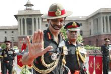 Army Chief leaves on four-day visit to Sri Lanka