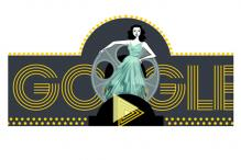 Google's musical doodle celebrates Hollywood actress-turned-inventor Hedy Lamarr's 101st birthday
