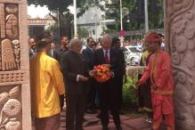 Modi inaugurates Torana Gate with his Malaysian counterpart Najib Razak