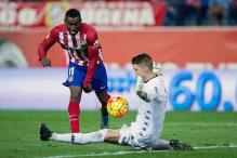 Striker Jackson Martinez vows to 'fight to the end' for Atletico Madrid