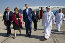 US Secretary of State John Kerry in Abu Dhabi for talks on Syria peace plan
