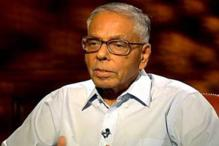Slipper thrown at former National Security Advisor MK Narayanan in Chennai by pro-Tamil activist