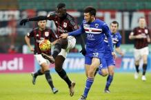 AC Milan back on winning track with a 4-1 win over Sampdoria in Serie A