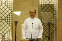 Myanmar's president Thein Sein pledges peaceful power shift