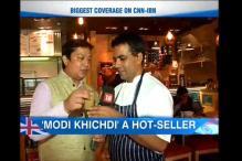 Modi khichdi, Namo chai to mark Narendra Modi's visit to UK