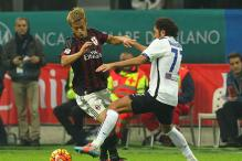 Serie A: AC Milan held by Atalanta, Bologna win at Verona