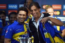 Thank God I'm in Sachin Tendulkar's team: Shoaib Akhtar