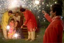 Photo of the day: Amitabh Bachchan shares photo of granddaughter Aaradhya celebrating Diwali