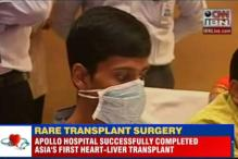 Apollo Hospitals performs for the very first time in Asia an en-bloc Heart & Liver transplant