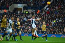 West Bromwich Albion humble Arsenal 2-1 in Premier League