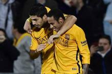 Barcelona see off Getafe thanks to Luis Suarez and Neymar goals