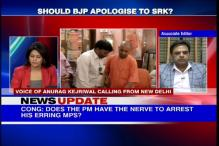 Should the BJP apologize to Shah Rukh Khan?