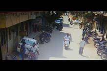 Caught on camera: Bike riders snatch chain from woman in Hyderabad