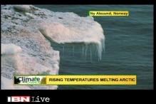 Watch: Climate change in the Arctic