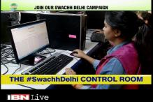How the control room of Swachh Delhi campaign works
