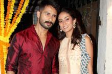 Shahid Kapoor and his wife Mira attend Masaba Gupta's mehendi ceremony