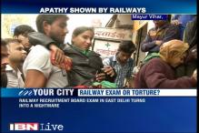 Railways exam turns into nightmare for physically-challenged candidates