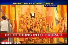 Tirupati Balaji comes to Delhi for 10 days