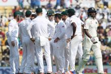 3rd Test: Nagpur turner leaves South Africa 11/2 after India's 215