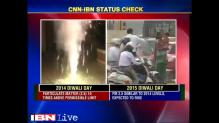 Pollution level sees 15-fold increase in Delhi post Diwali