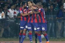 ISL 2015: Santos, Robin score as Delhi Dynamos beat NorthEast United FC 2-1 to book semi-final berth