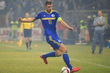 Late Edin Dzeko goal saves Bosnia in Euro 2016 playoff with Ireland