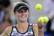 Elina Svitolina rallies to beat Carla Suarez Navarro at WTA Elite Trophy