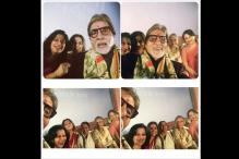 Photo of the day: Big B captures Vidya, Sharmila, Jaya, Mamata and Moushumi in one frame