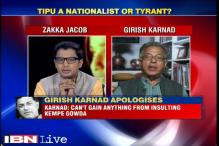 Didn't intend to insult Kempe Gowda, says Girish Karnad on 'Tipu Sultan' remark