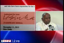 Rift within BJP should be discussed internally: Govindacharya