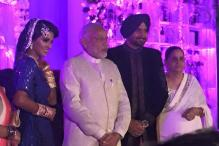 Photos: Narendra Modi, Virat Kohli, Amir Khan attend Harbhajan Singh-Geeta Basra's wedding reception