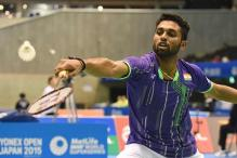 Shuttler H.S.Prannoy drops to No.21 in rankings