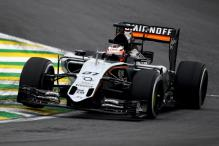 Formula One: Force India seal best ever fifth place at Brazilian GP