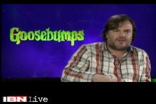 Jack Black talks about his film 'Goosebumps'
