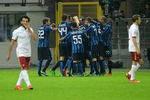 Inter Milan beat AS Roma to take top spot, Juventus down Torino