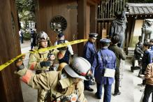 Blast at Japan's controversial Yasukuni shrine, no injuries