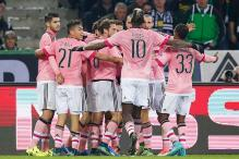 10-man Juventus draw 1-1 at Gladbach in Champions League
